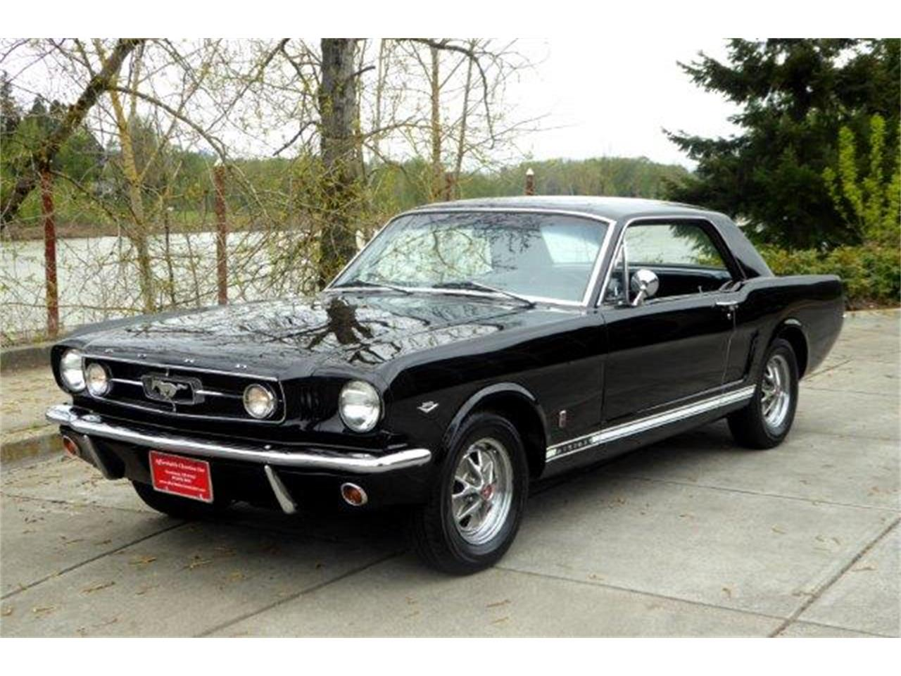 Large picture of 1965 ford mustang gt located in gladstone oregon px6b