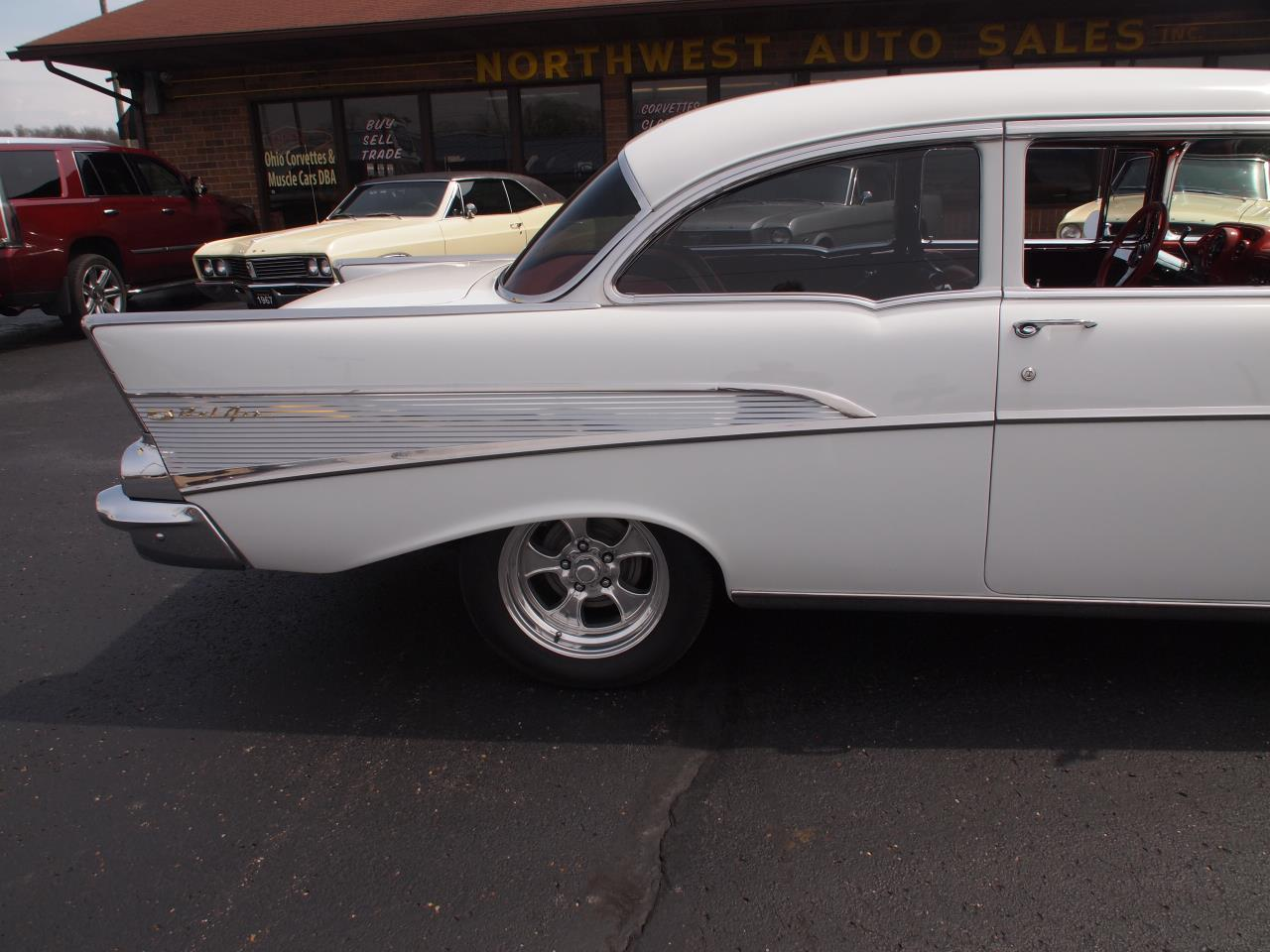 Large Picture of 1957 Chevrolet Bel Air located in North Canton Ohio Offered by Ohio Corvettes and Muscle Cars - PX70