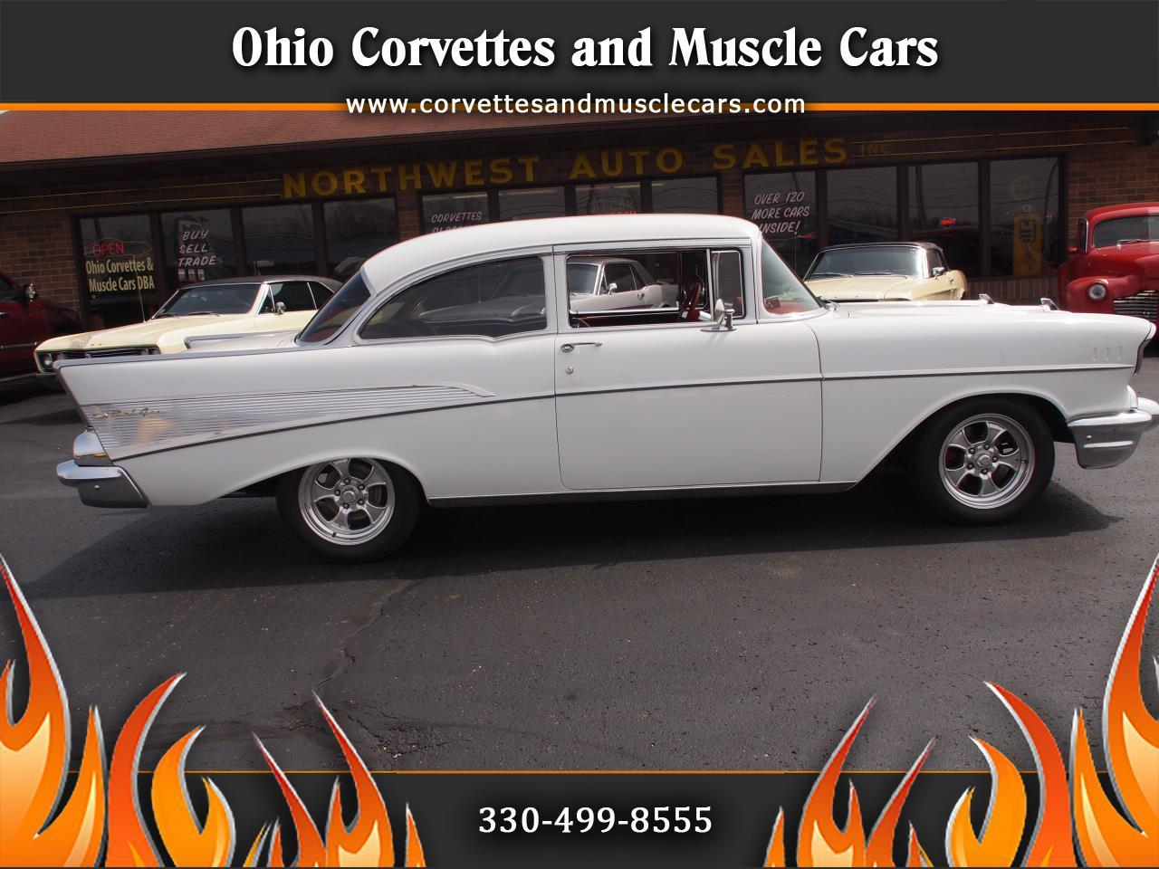 Large Picture of Classic '57 Chevrolet Bel Air located in North Canton Ohio Offered by Ohio Corvettes and Muscle Cars - PX70