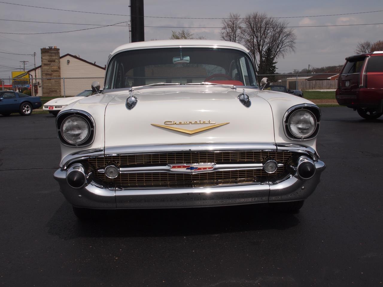 Large Picture of '57 Chevrolet Bel Air located in North Canton Ohio Offered by Ohio Corvettes and Muscle Cars - PX70