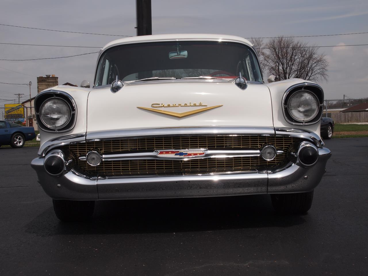 Large Picture of Classic 1957 Chevrolet Bel Air located in North Canton Ohio - $60,000.00 Offered by Ohio Corvettes and Muscle Cars - PX70