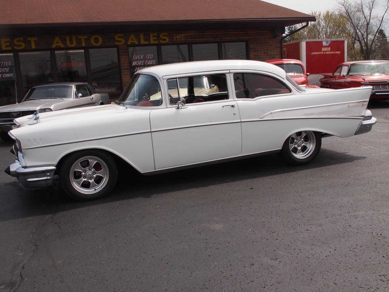 Large Picture of 1957 Chevrolet Bel Air located in North Canton Ohio - $60,000.00 Offered by Ohio Corvettes and Muscle Cars - PX70