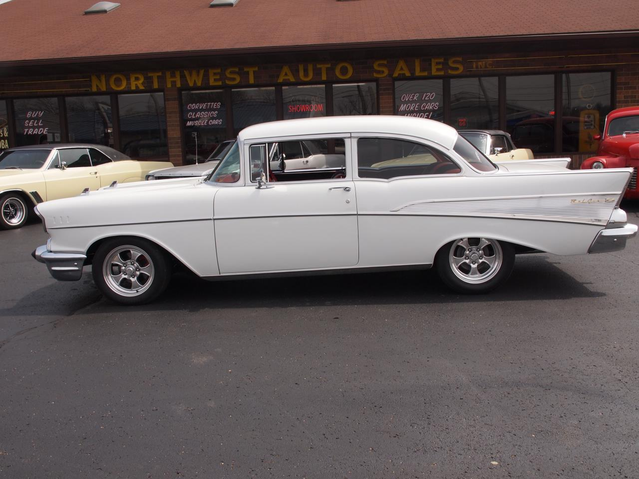 Large Picture of Classic '57 Bel Air located in Ohio Offered by Ohio Corvettes and Muscle Cars - PX70