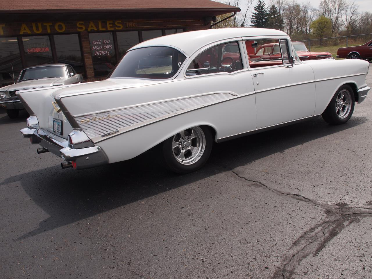 Large Picture of Classic '57 Chevrolet Bel Air located in Ohio - $60,000.00 Offered by Ohio Corvettes and Muscle Cars - PX70