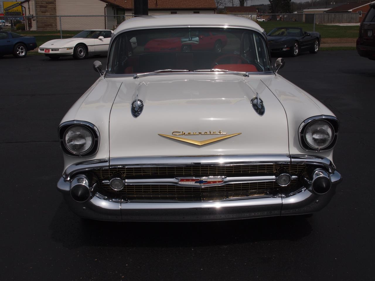 Large Picture of Classic '57 Bel Air located in North Canton Ohio Offered by Ohio Corvettes and Muscle Cars - PX70