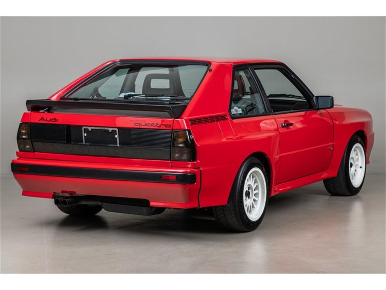 Large Picture of '86 Quattro - PX7J