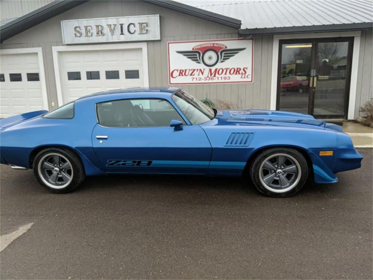 Large Picture of '78 Camaro located in Iowa Offered by Cruz'n Motors - PX97