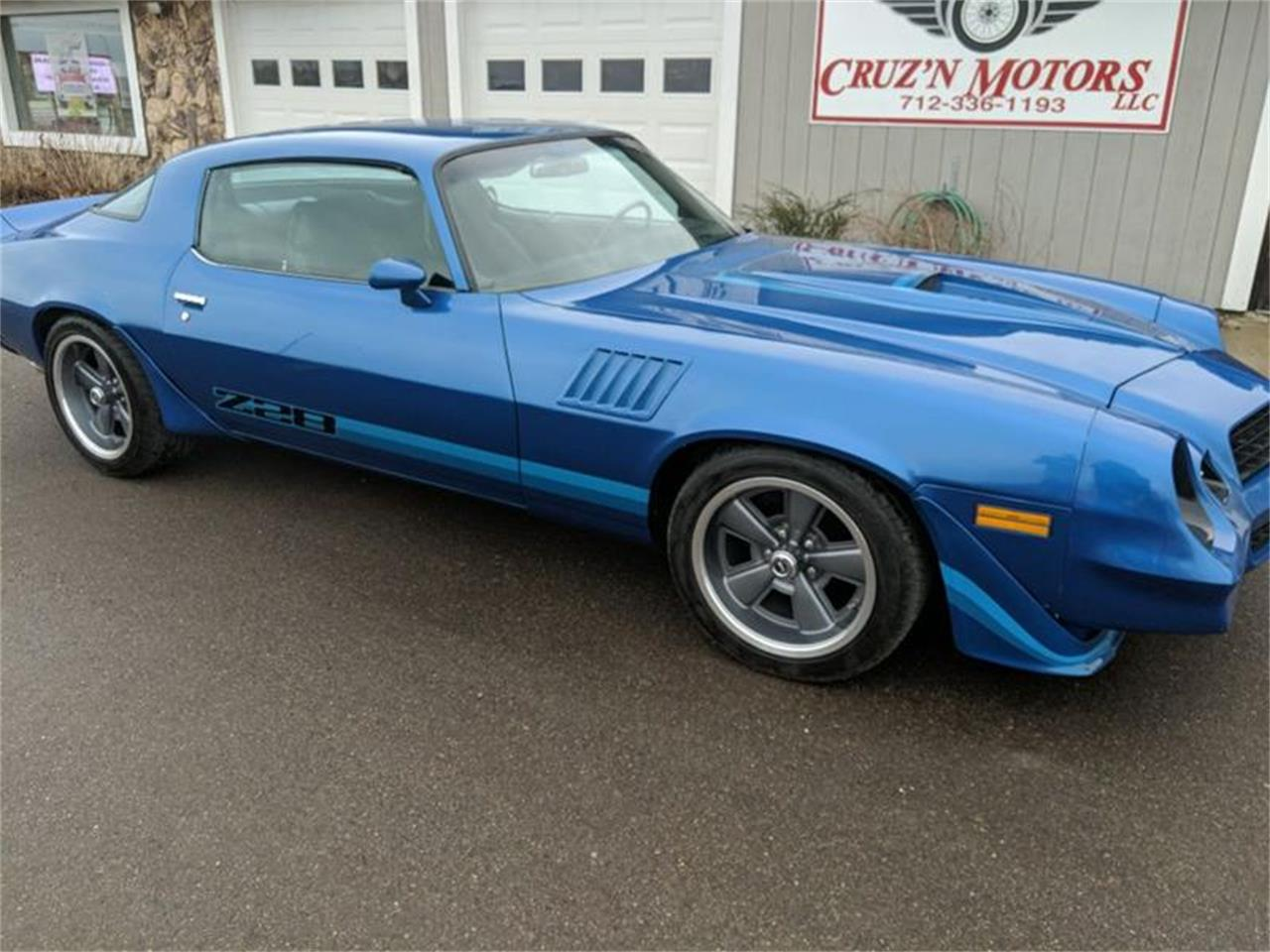 Large Picture of 1978 Chevrolet Camaro located in Spirit Lake Iowa Offered by Cruz'n Motors - PX97