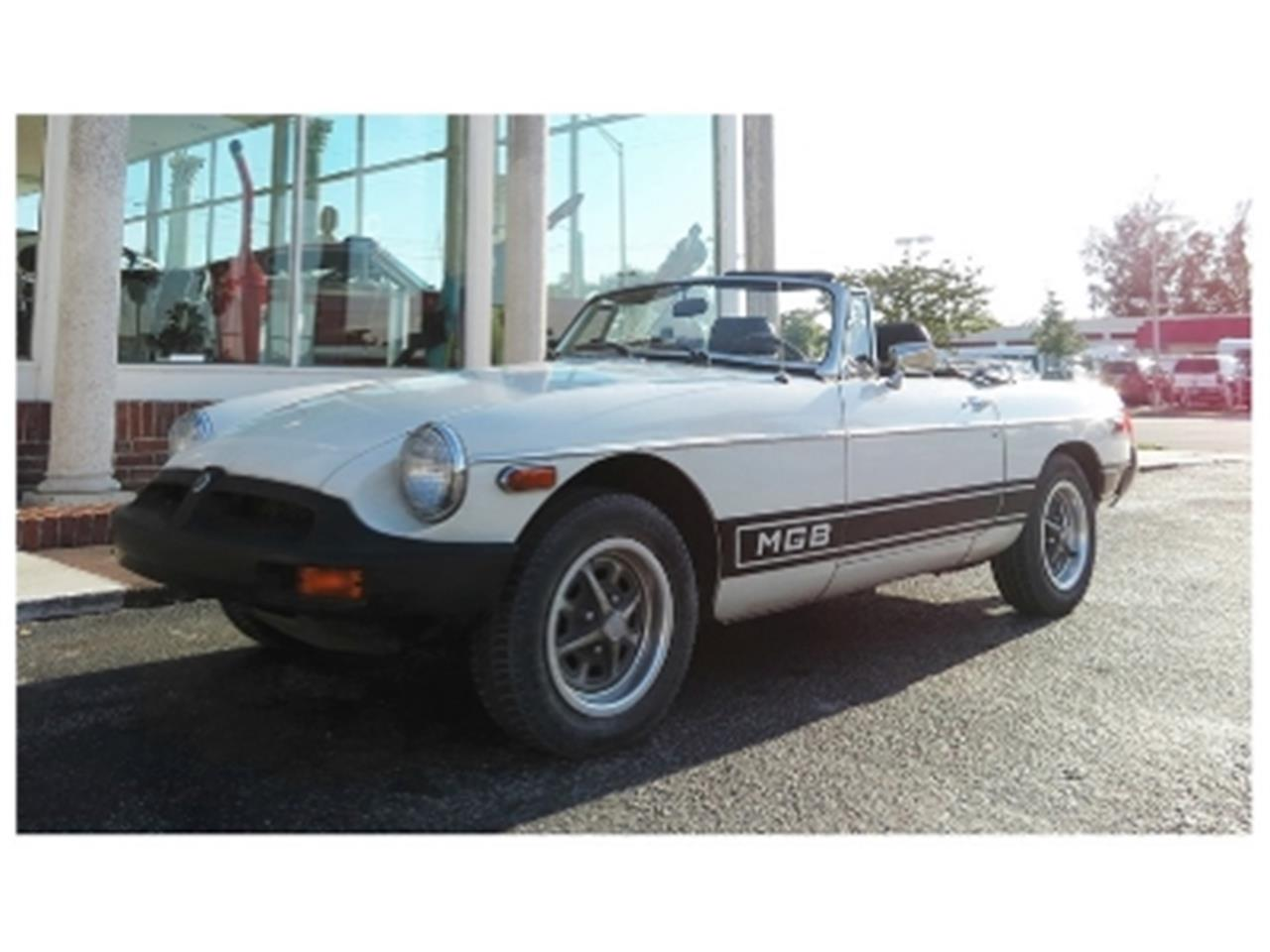 Large Picture of '79 MG MGB located in Florida Offered by Sobe Classics - PXBO