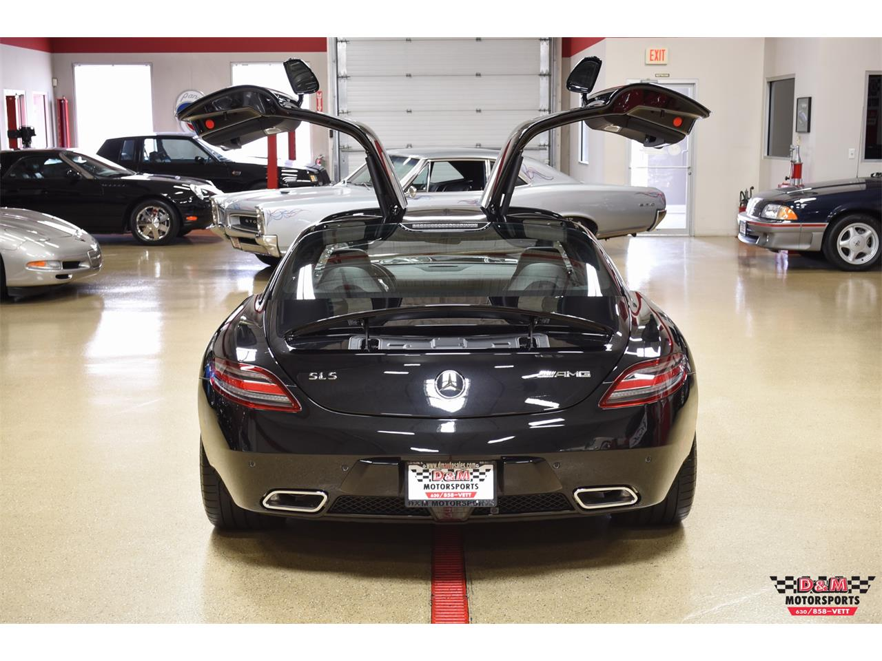 Large Picture of 2012 Mercedes-Benz SLS AMG - PXCB