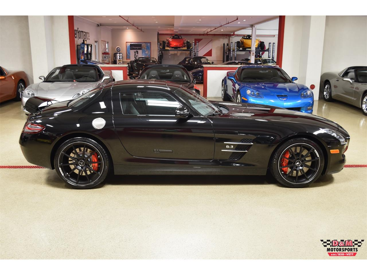 Large Picture of '12 SLS AMG - PXCB
