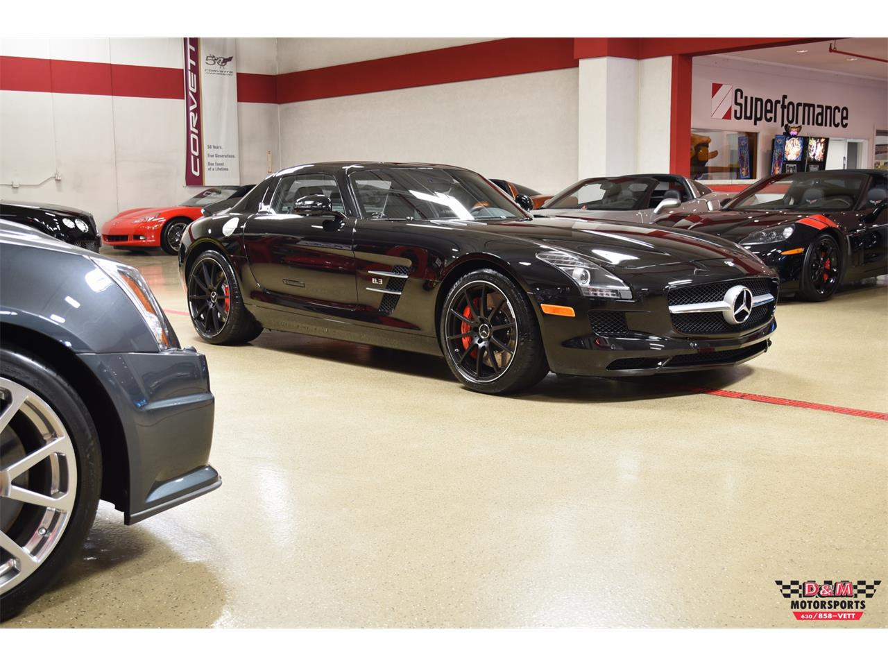 Large Picture of '12 Mercedes-Benz SLS AMG located in Glen Ellyn Illinois Offered by D & M Motorsports - PXCB