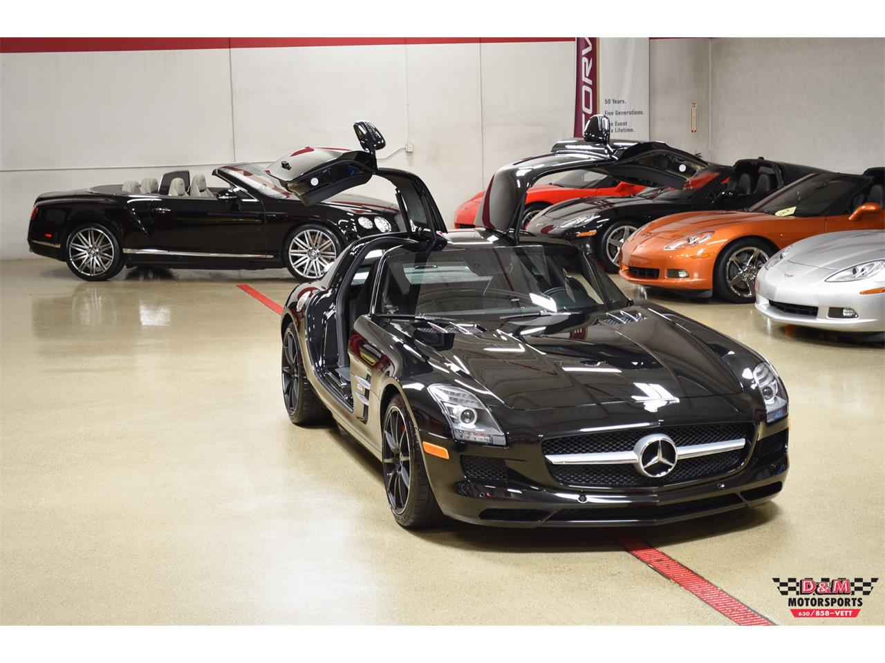Large Picture of '12 Mercedes-Benz SLS AMG Offered by D & M Motorsports - PXCB