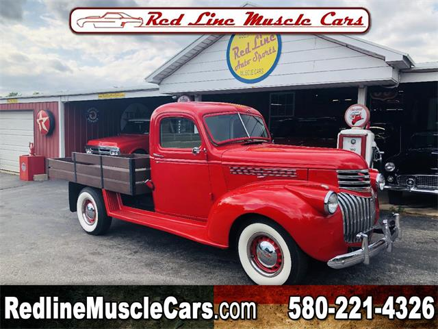 Picture of '42 Chevrolet 1/2-Ton Pickup located in Oklahoma - PXCG