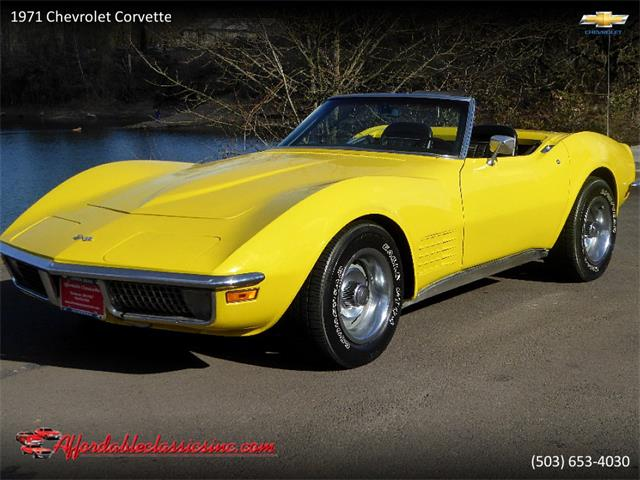 Picture Of 71 Corvette Pyfg