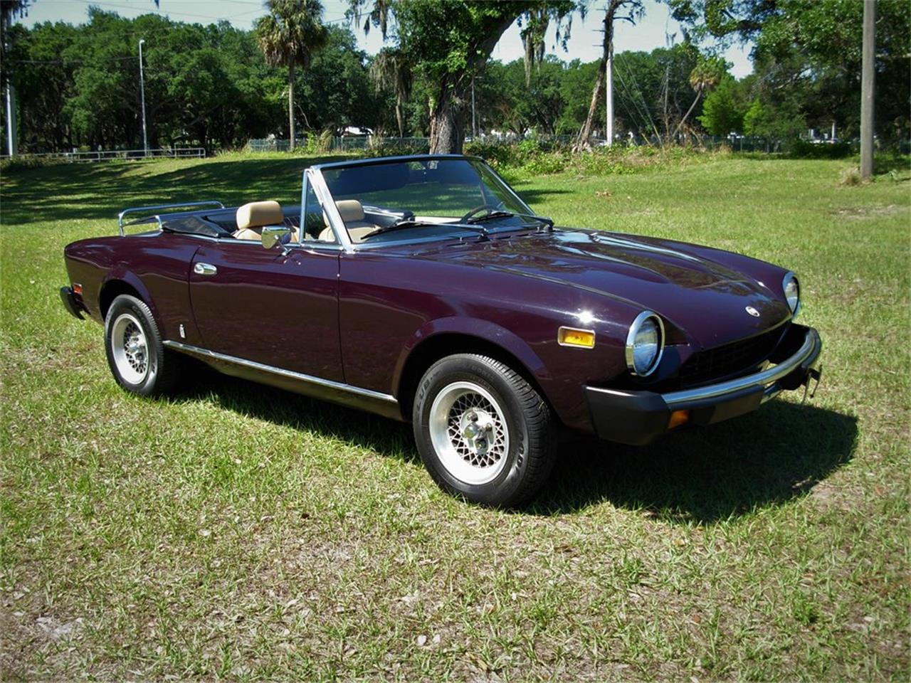 Large Picture of '78 Fiat 124 located in Palmetto Florida - PYGQ