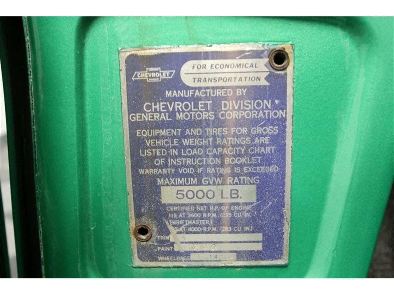 For Sale: 1959 Chevrolet Apache in Concord, North Carolina