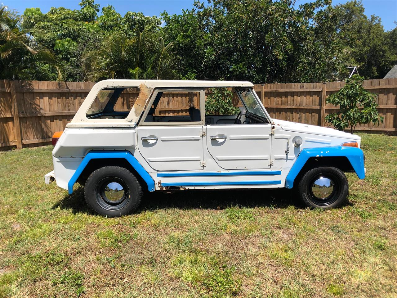 Volkswagen Thing For Sale >> For Sale 1974 Volkswagen Thing In Port St Lucie Florida