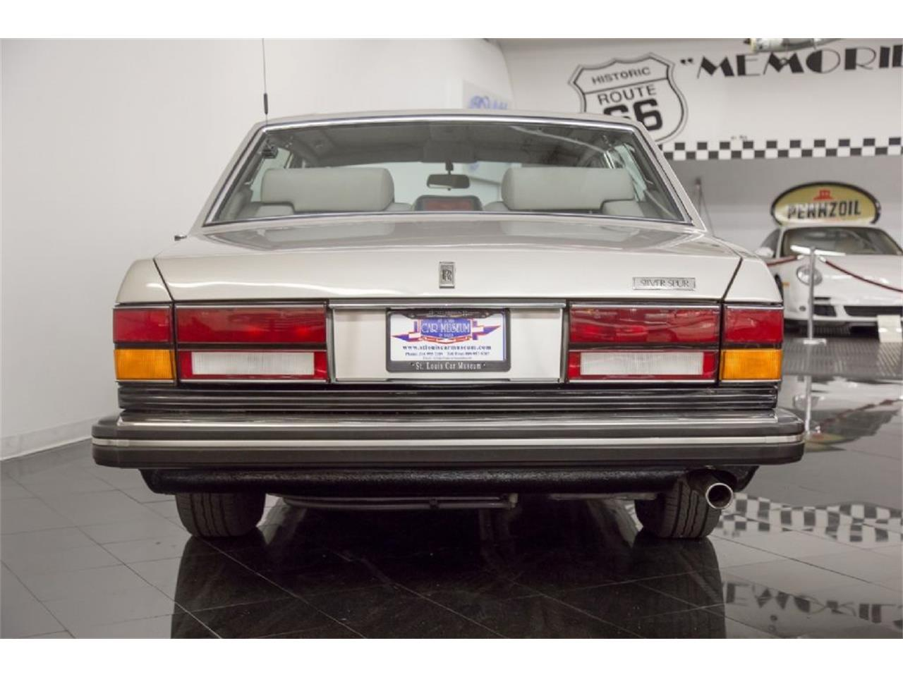 Large Picture of '89 Silver Spur Offered by St. Louis Car Museum - PXSH