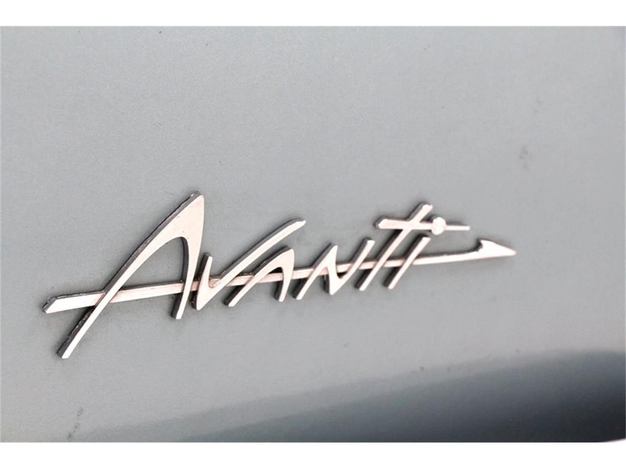 Large Picture of '64 Avanti - PZ54