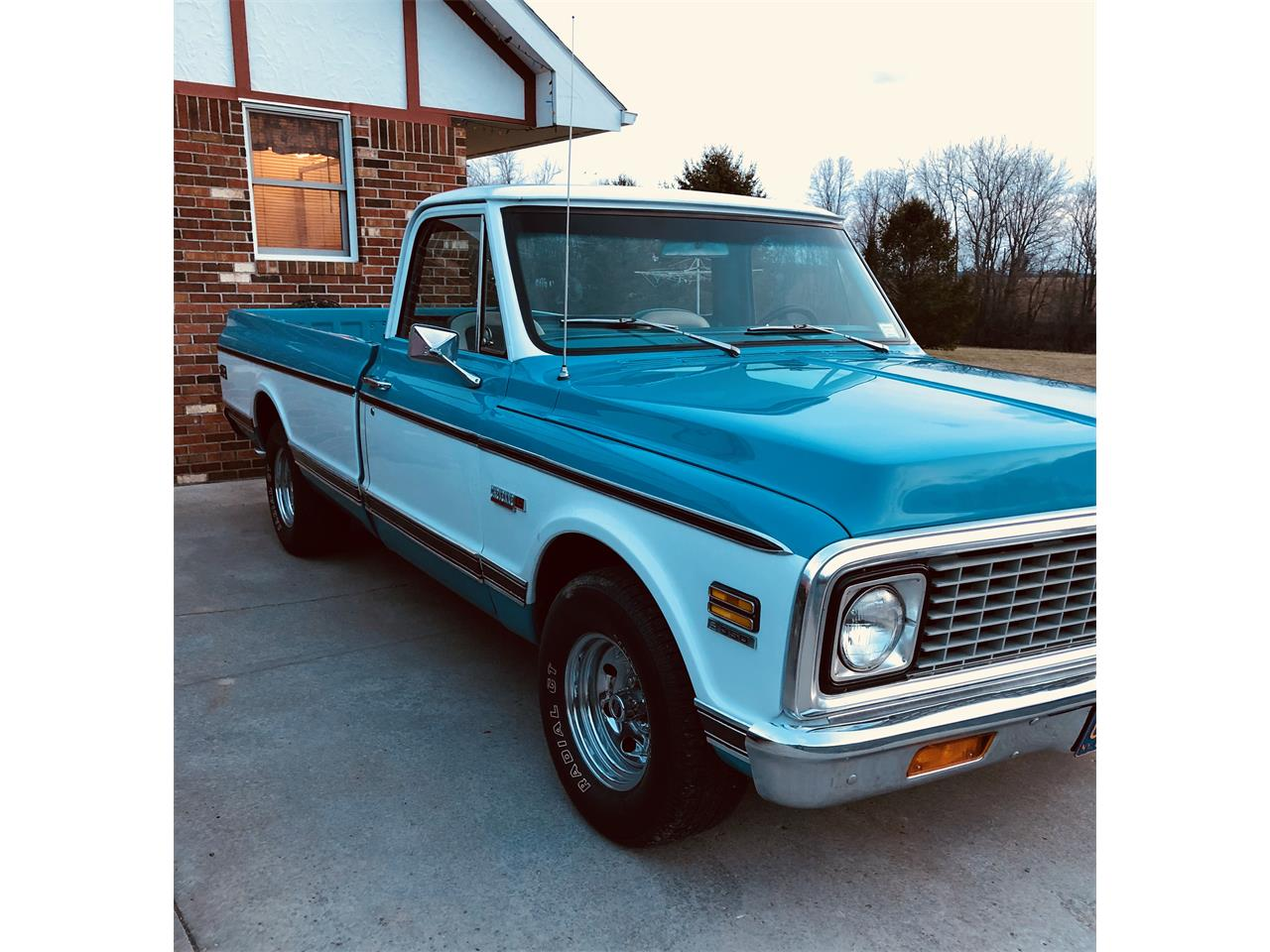 Large Picture of '71 Chevrolet C10 located in Canandaigua New York - PZ98