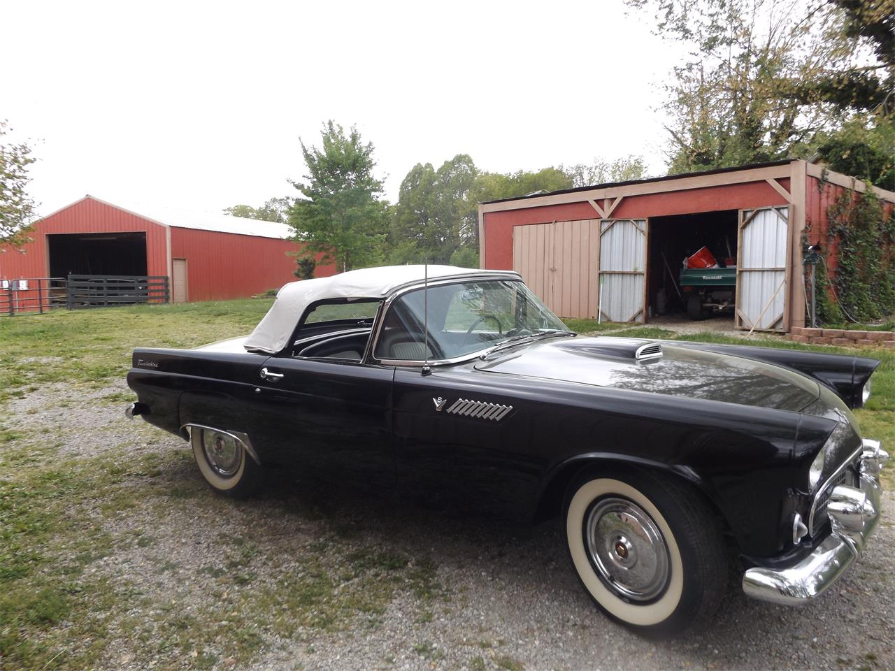 Large Picture of Classic 1955 Ford Thunderbird located in Mountain View Missouri - $31,500.00 Offered by a Private Seller - PZ9L