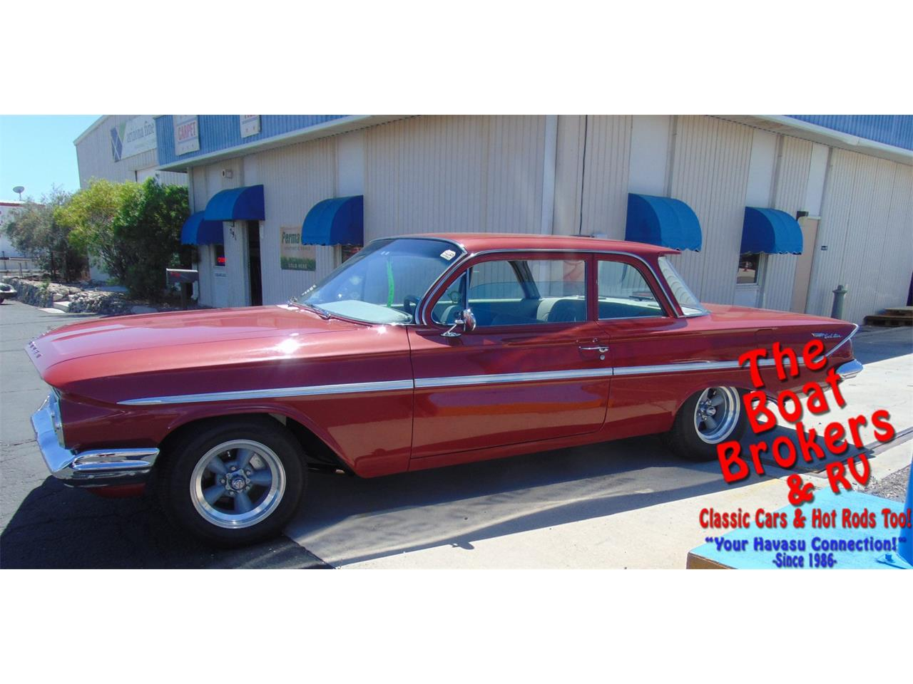 Large Picture of Classic 1961 Bel Air Offered by The Boat Brokers - PXT2