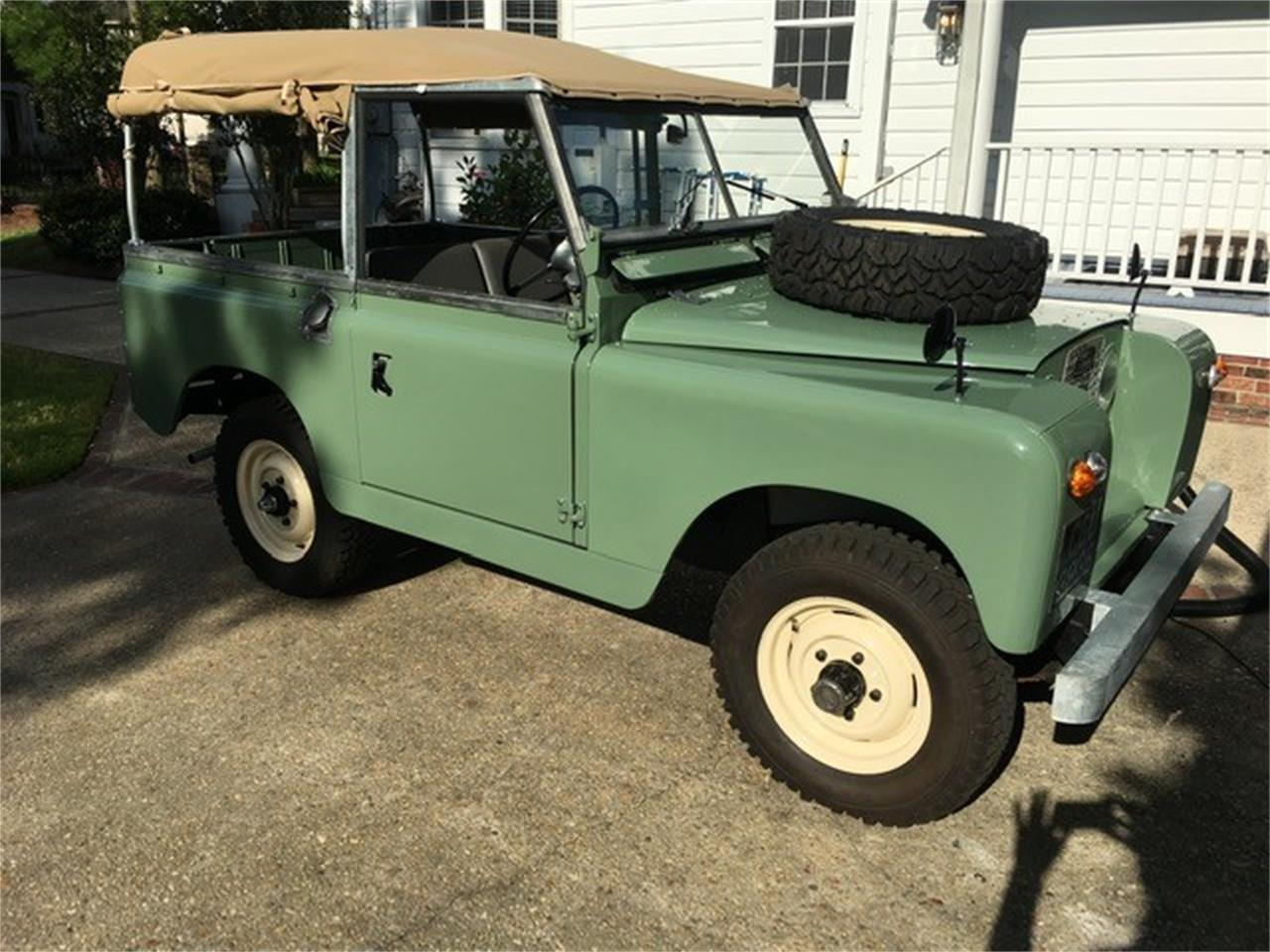 For Sale: 1964 Land Rover Series IIA in New Orleans, Louisiana
