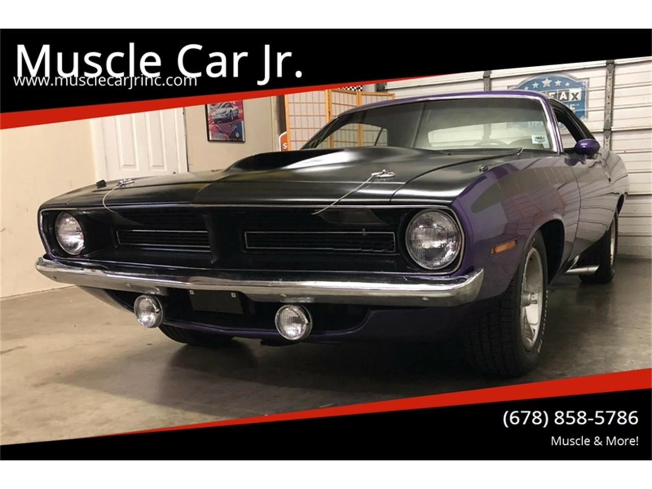 Large Picture of Classic '70 Plymouth Barracuda located in Georgia - $89,900.00 Offered by Muscle Car Jr - PZC6