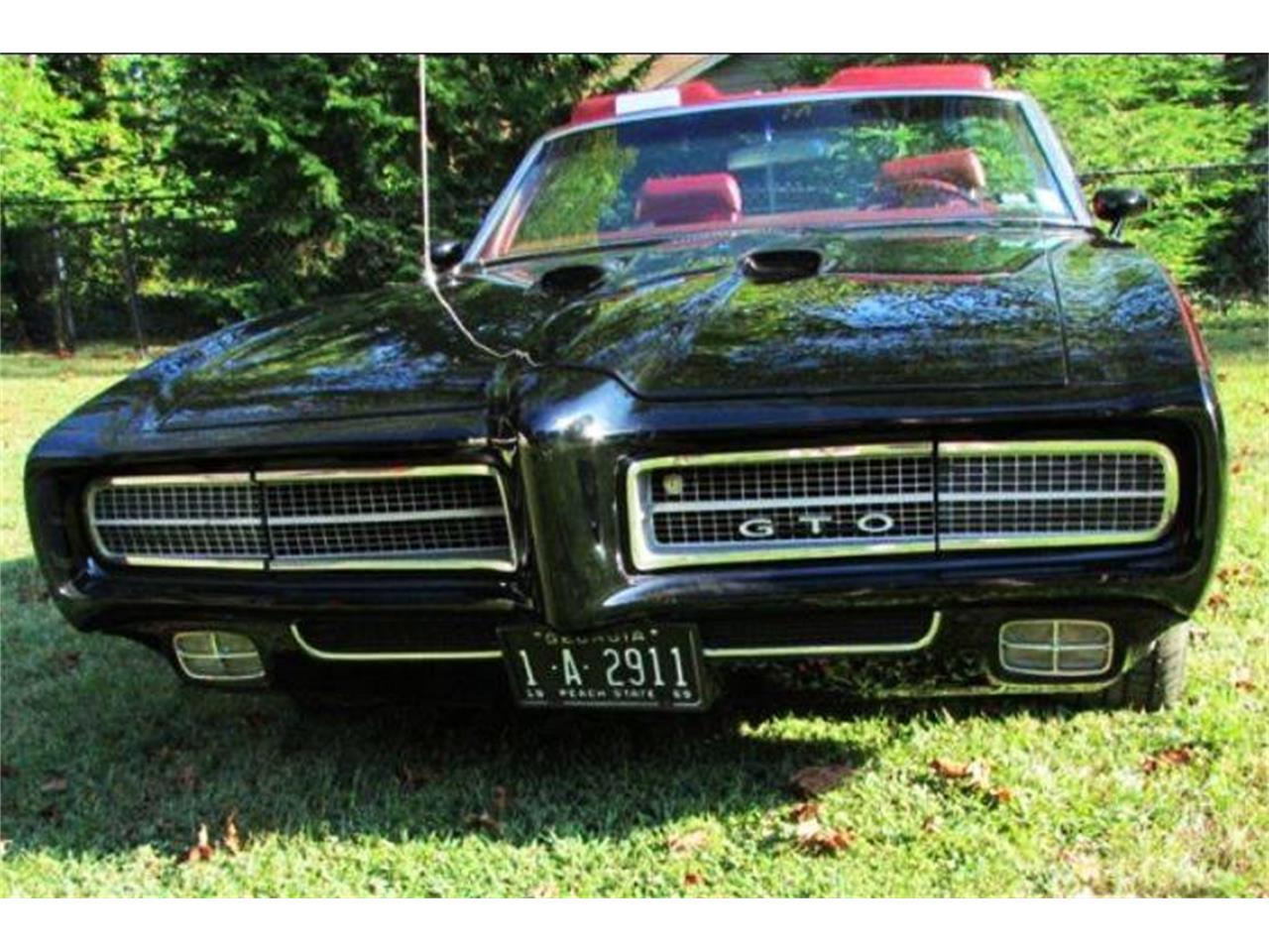 Large Picture of '69 Pontiac GTO located in Georgia - $45,000.00 Offered by Muscle Car Jr - PZCI