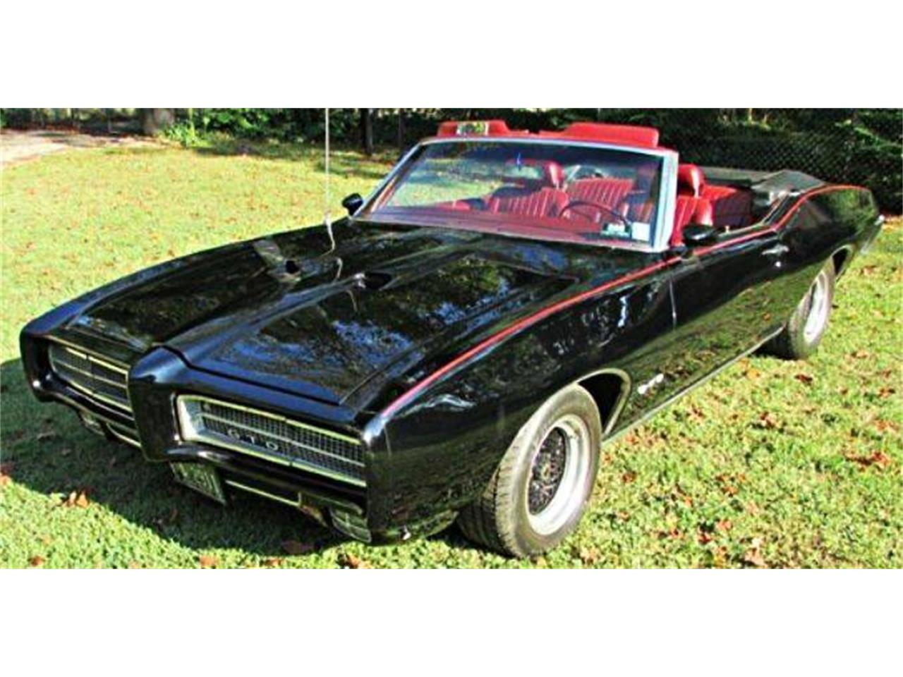 Large Picture of Classic '69 Pontiac GTO located in Alpharetta Georgia Offered by Muscle Car Jr - PZCI