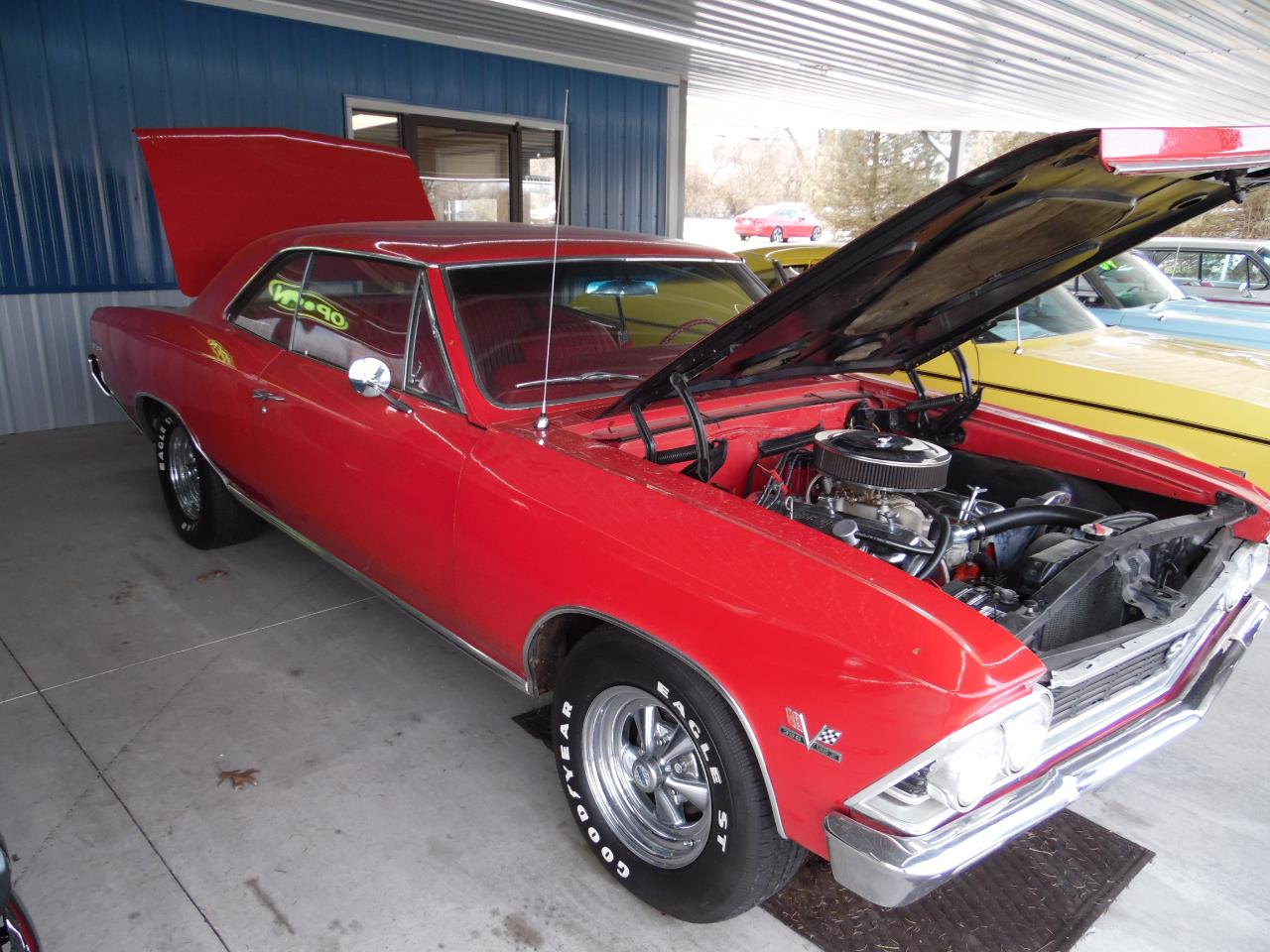 Large Picture of Classic '66 Chevrolet Chevelle located in Paris  Kentucky Offered by Central Kentucky Classic Cars LLC  - PZIA
