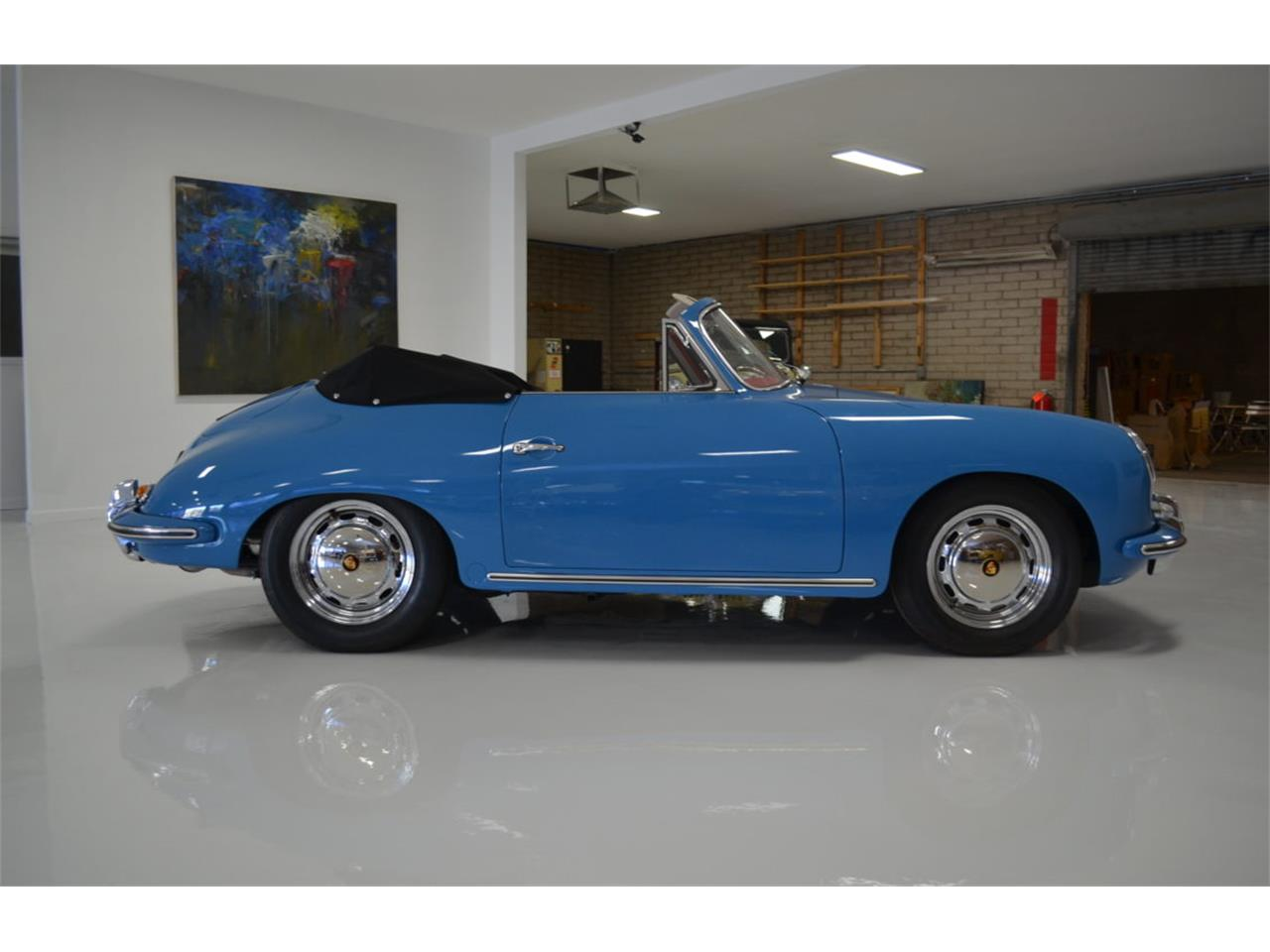 Large Picture of Classic 1964 Porsche 356 located in Phoenix Arizona - PZL1
