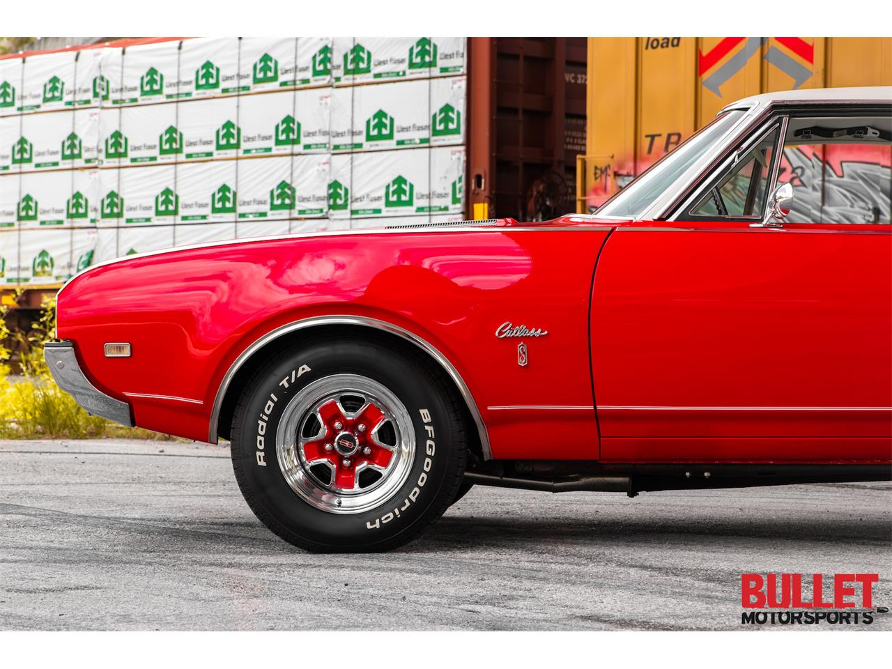 Large Picture of 1968 Oldsmobile Cutlass Supreme Offered by Bullet Motorsports Inc - PZS9