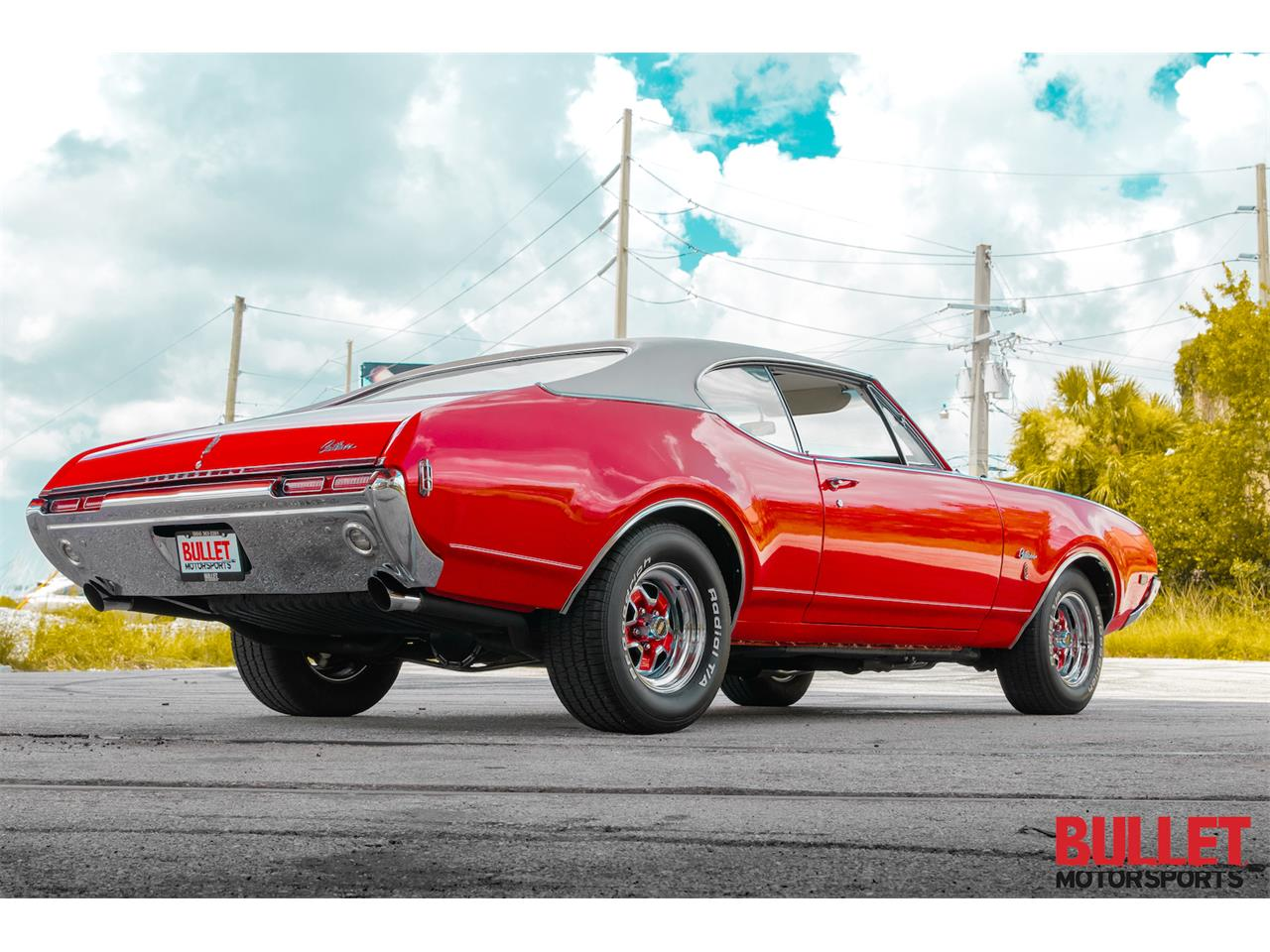 Large Picture of 1968 Oldsmobile Cutlass Supreme located in Fort Lauderdale Florida - $30,000.00 - PZS9