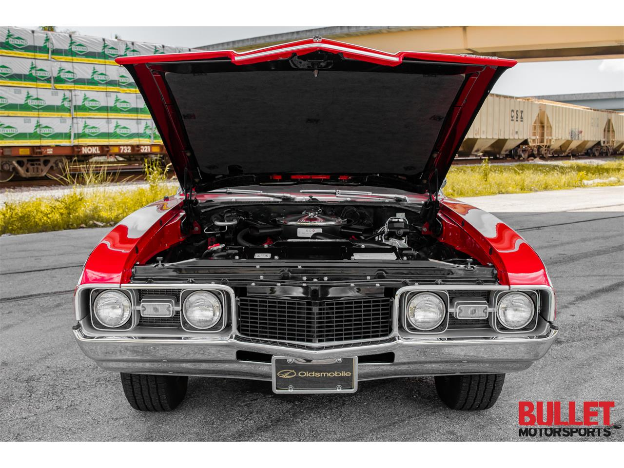 Large Picture of Classic '68 Oldsmobile Cutlass Supreme Offered by Bullet Motorsports Inc - PZS9