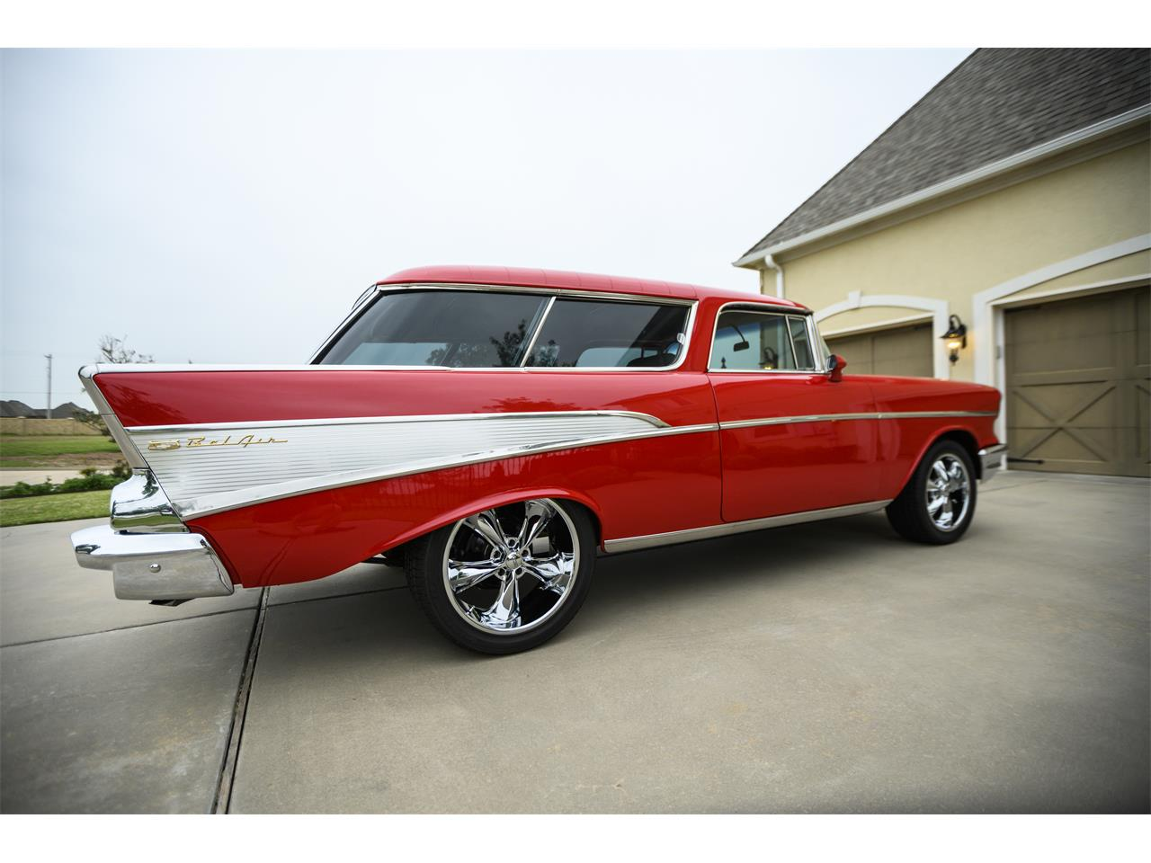 Large Picture of Classic '57 Chevrolet Bel Air Nomad located in Oklahoma - $67,400.00 Offered by a Private Seller - PZTB