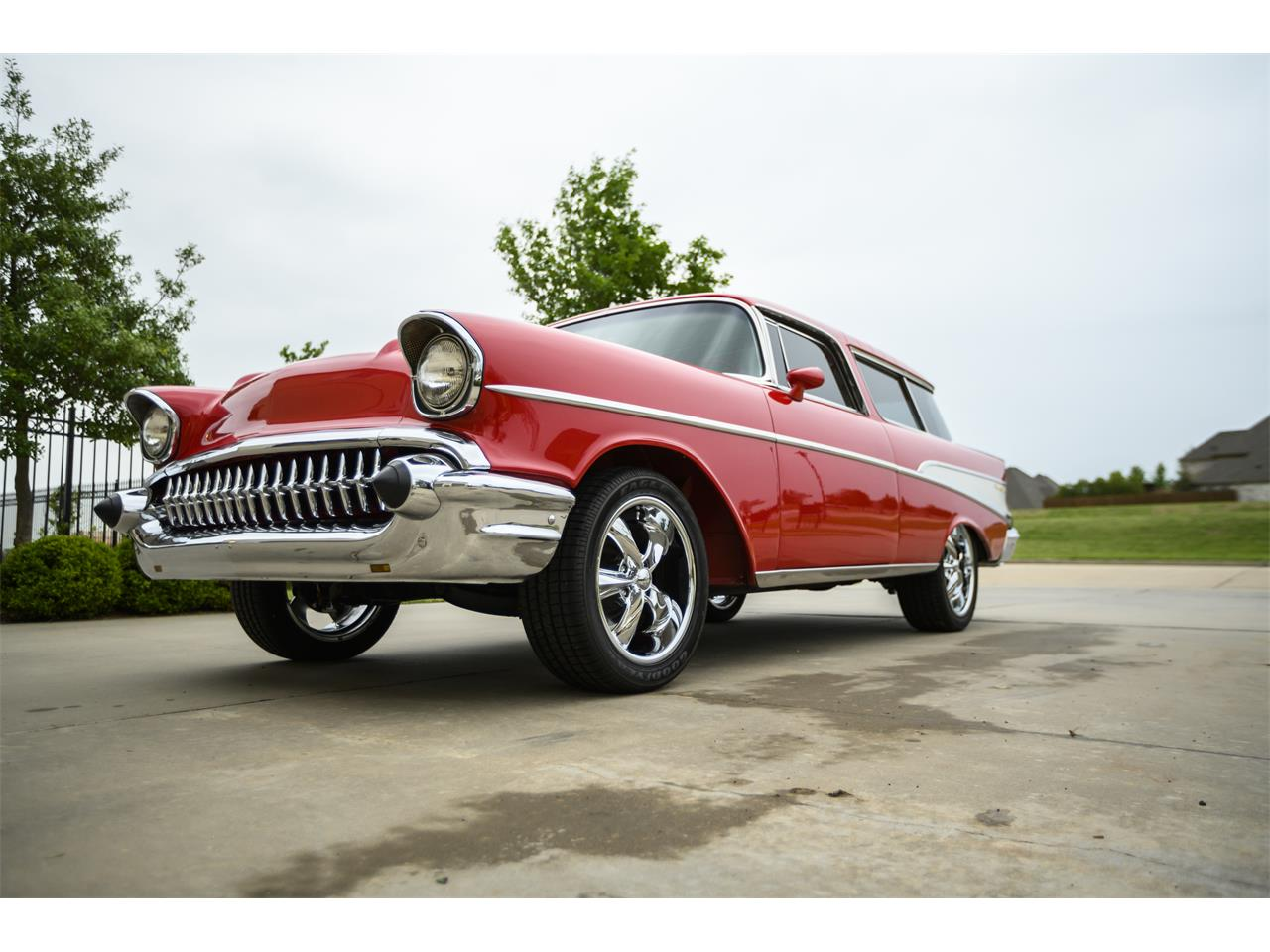 Large Picture of Classic 1957 Chevrolet Bel Air Nomad located in Lawton Oklahoma - $67,400.00 - PZTB