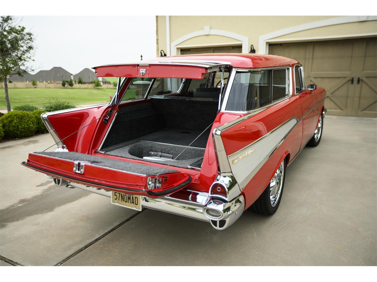 Large Picture of 1957 Chevrolet Bel Air Nomad Offered by a Private Seller - PZTB