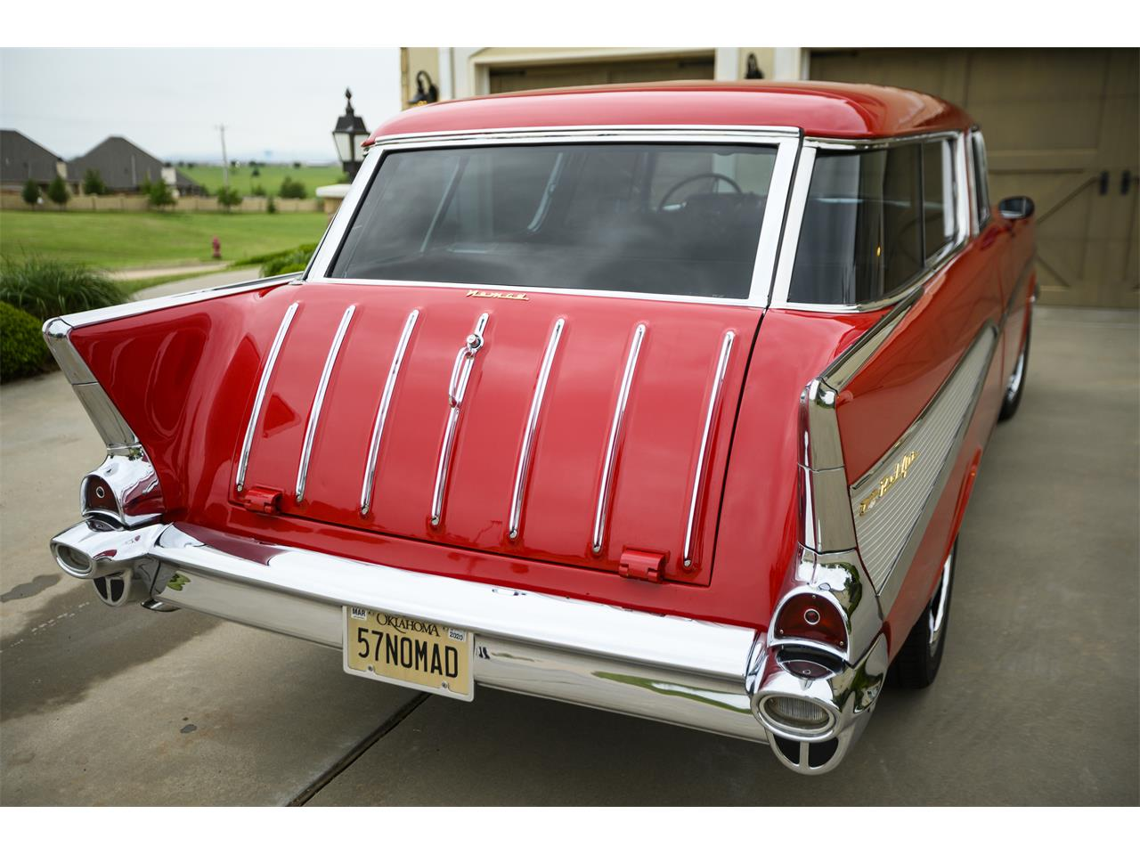 Large Picture of '57 Chevrolet Bel Air Nomad located in Oklahoma - $67,400.00 - PZTB