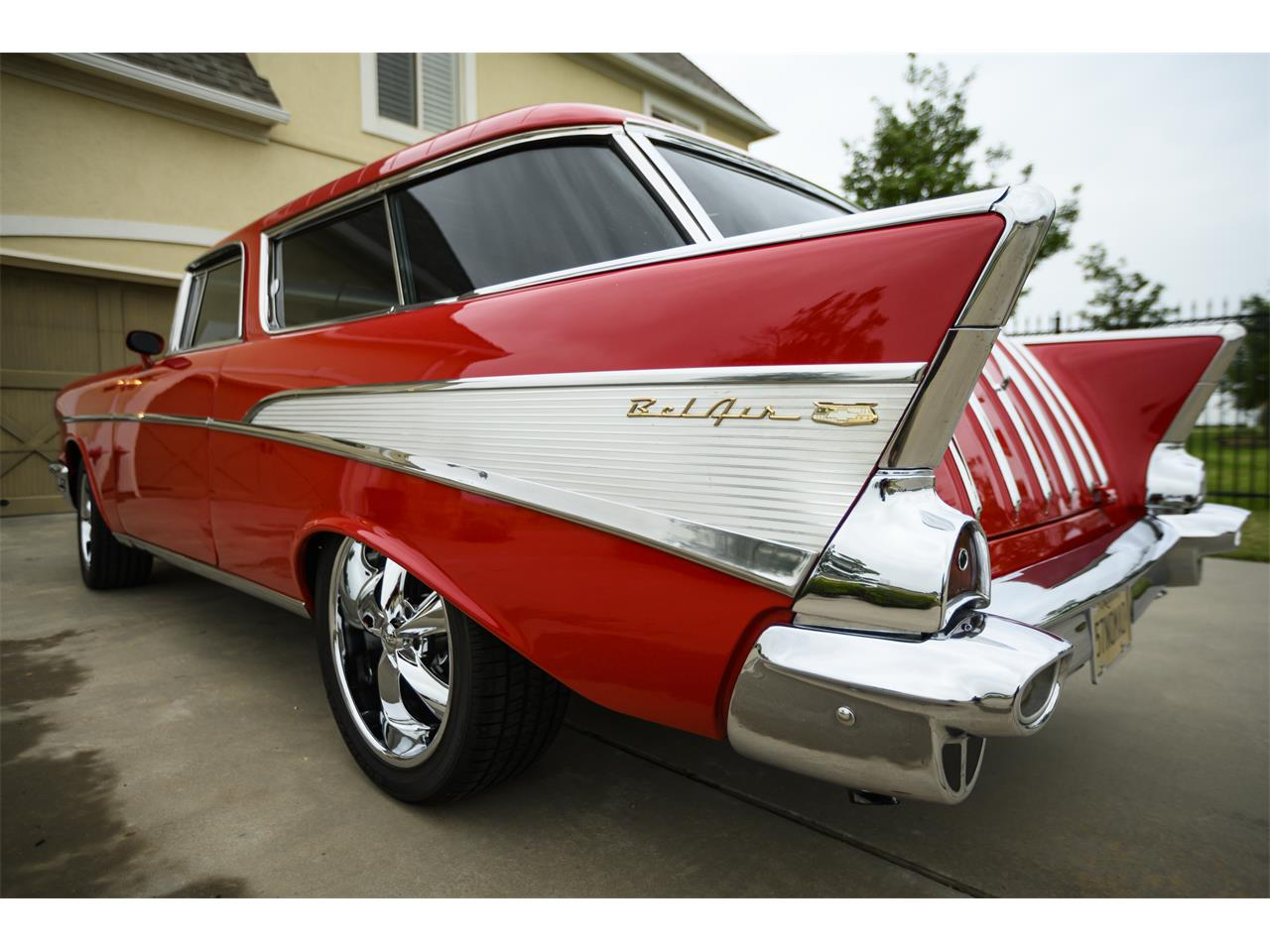 Large Picture of '57 Chevrolet Bel Air Nomad located in Lawton Oklahoma Offered by a Private Seller - PZTB