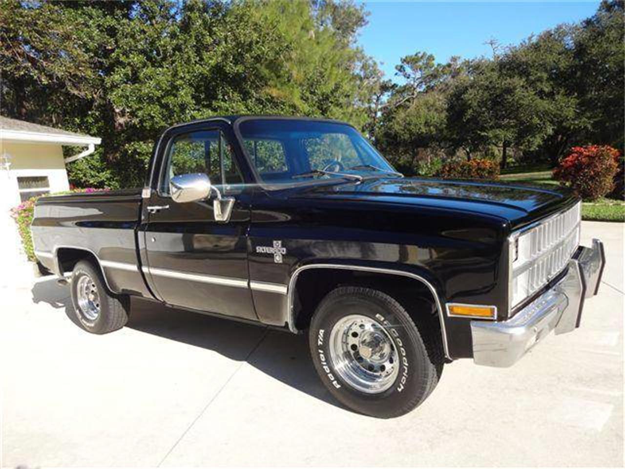 For Sale 1982 Chevrolet Silverado In Sarasota Florida