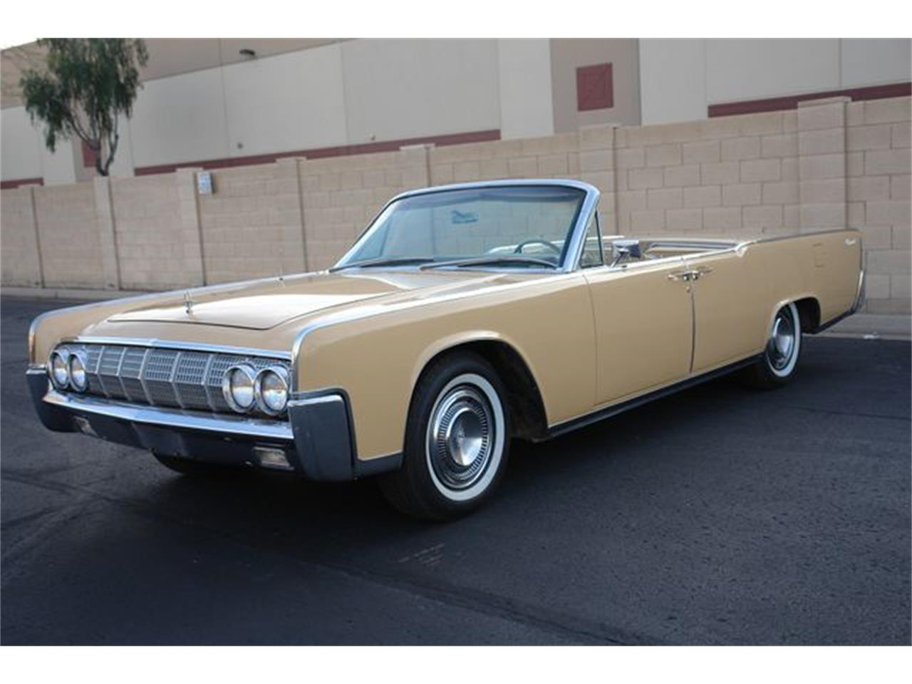 Large Picture of Classic 1964 Continental located in Arizona - $47,950.00 Offered by Arizona Classic Car Sales - Q01H