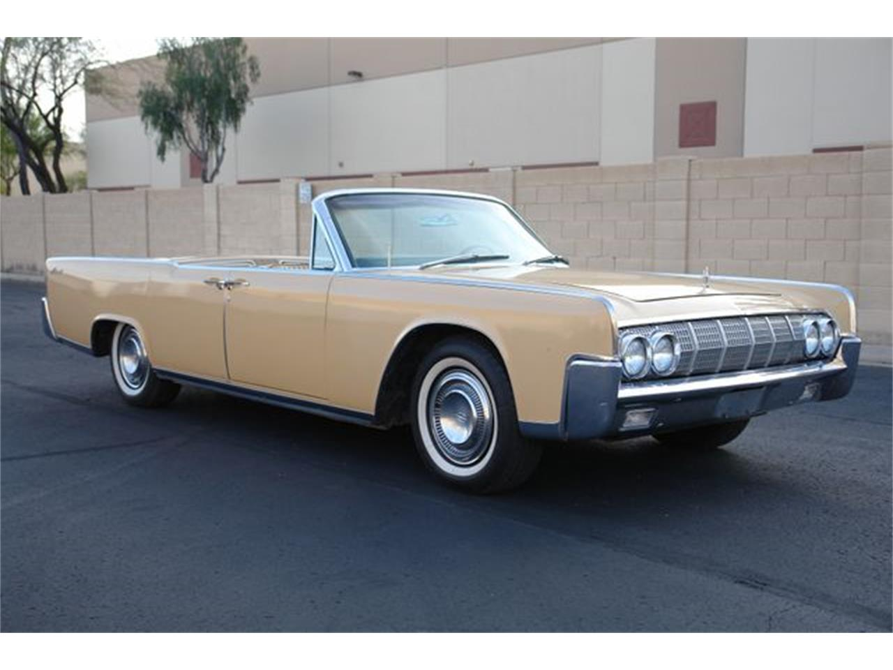 Large Picture of '64 Continental - $47,950.00 Offered by Arizona Classic Car Sales - Q01H