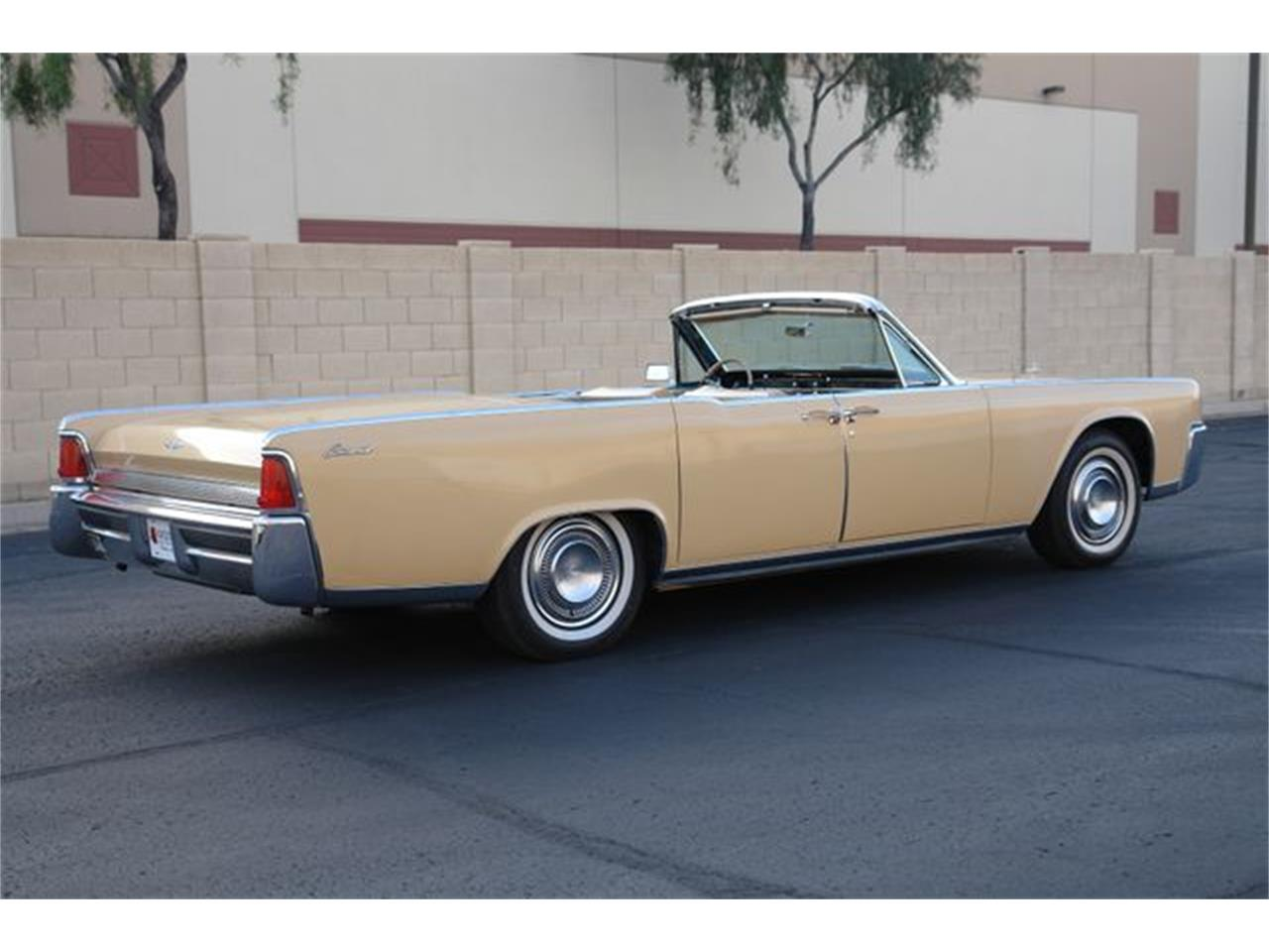Large Picture of '64 Continental located in Phoenix Arizona - $47,950.00 Offered by Arizona Classic Car Sales - Q01H