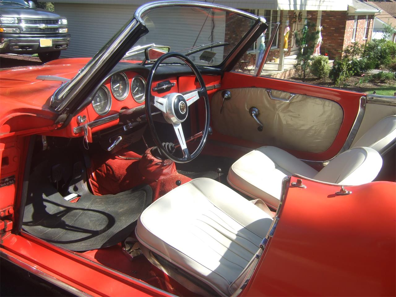 Large Picture of 1964 Alfa Romeo Giulietta Spider Offered by a Private Seller - Q08N