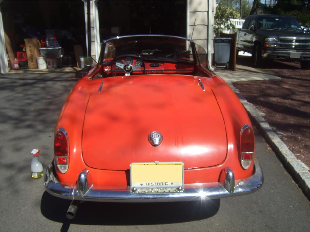 Large Picture of Classic 1964 Alfa Romeo Giulietta Spider located in Wayne New Jersey - $38,000.00 Offered by a Private Seller - Q08N