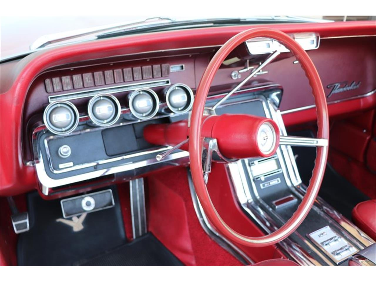 Large Picture of Classic 1966 Ford Thunderbird located in Illinois Offered by Midwest Car Exchange - Q0AO