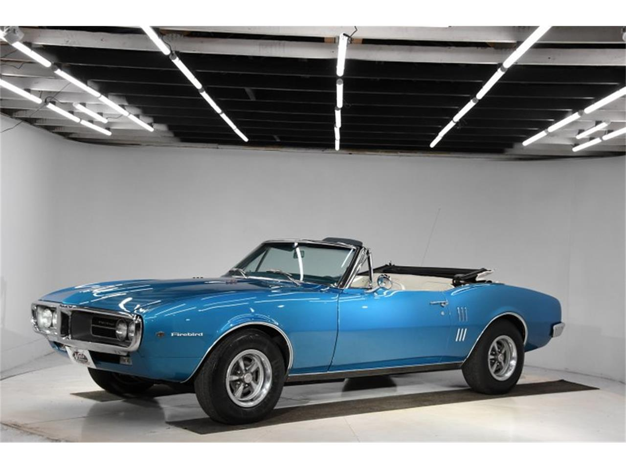 Large Picture of Classic '67 Pontiac Firebird located in Volo Illinois Offered by Volo Auto Museum - Q0JX