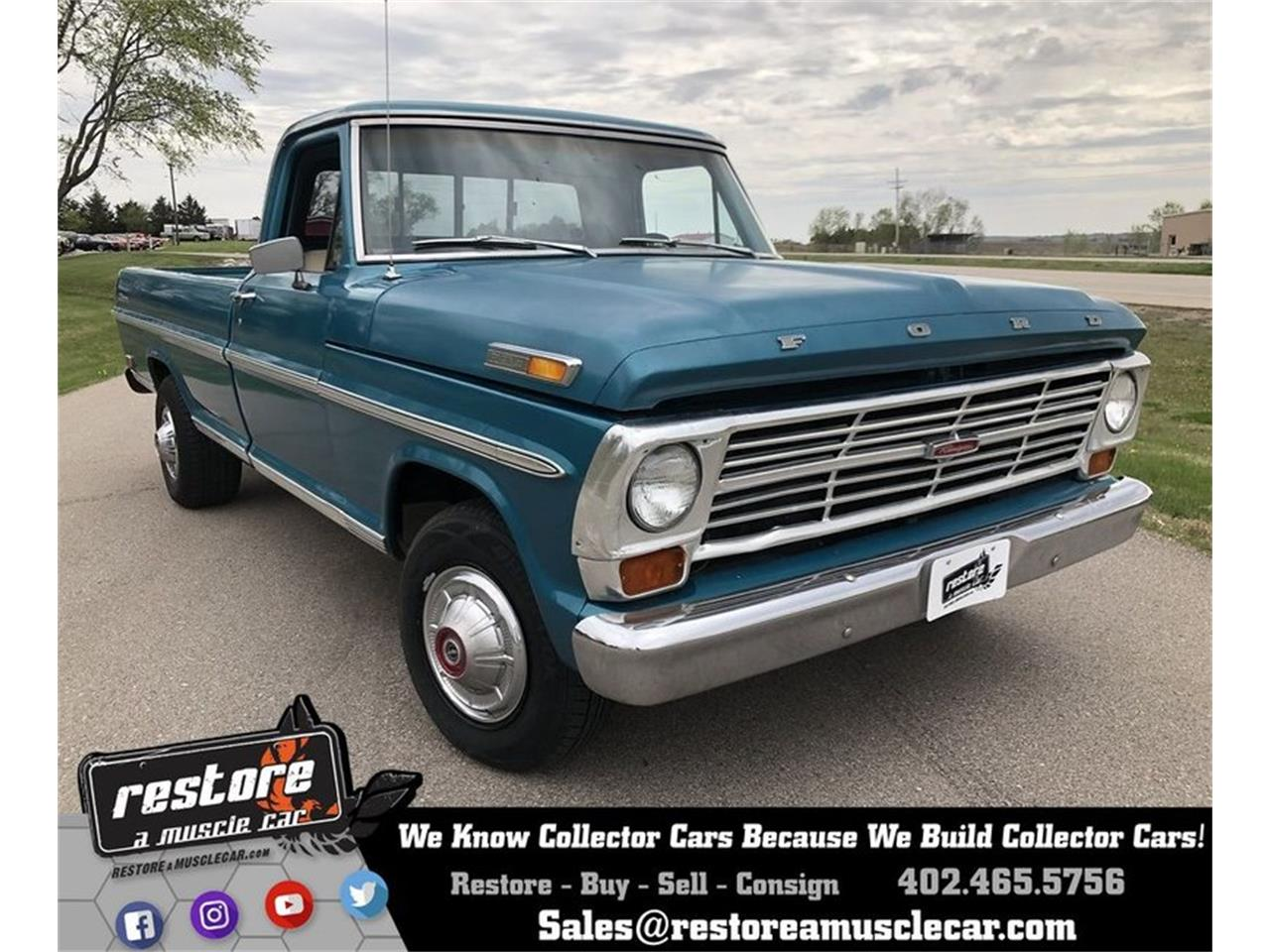 Large Picture of Classic '68 Ford F100 - $5,900.00 - Q0KT